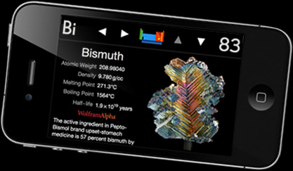 iPhone App Review:  The Elements, by Theodore Gray, Adapted for the iPhone 4 by TouchPress