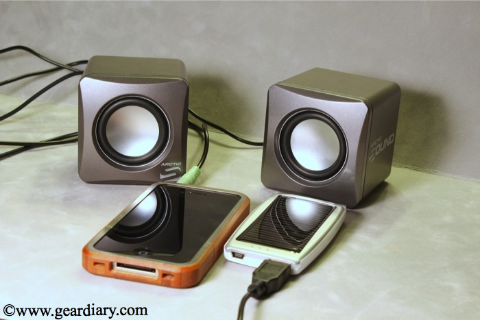 Review: Arctic Sound S11 Speakers And Arctic Power C1 Solar Charger