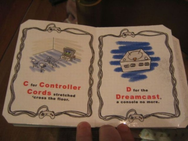 Random Cool Stuff: ABC's for Baby Gamers!