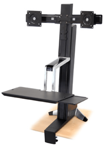 Work Gear Review- The Ergotron WorkFit Sit-Stand Desk  Work Gear Review- The Ergotron WorkFit Sit-Stand Desk  Work Gear Review- The Ergotron WorkFit Sit-Stand Desk  Work Gear Review- The Ergotron WorkFit Sit-Stand Desk