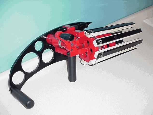 The Rubber Band Gatling Gun