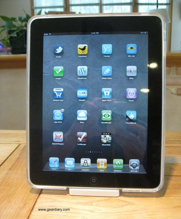 Naked iPad?  No, Speck SeeThru!  Naked iPad?  No, Speck SeeThru!