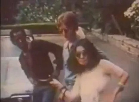 Random Cool Video: Miles Davis & John Lennon Playing Basketball