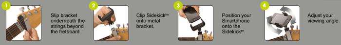 Guitar + iPhone = CASTIV's Guitar Sidekick  Guitar + iPhone = CASTIV's Guitar Sidekick