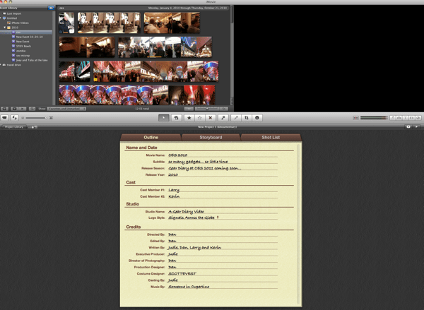 Quick Look- iMovie '11 Movie Trailers... Fast, Easy, Fun