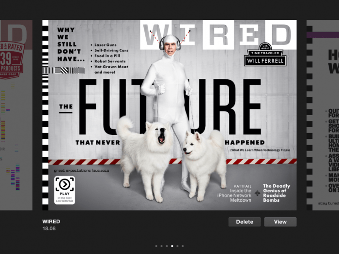 Wired Magazine iPad App--an Ironic Fail  Wired Magazine iPad App--an Ironic Fail  Wired Magazine iPad App--an Ironic Fail
