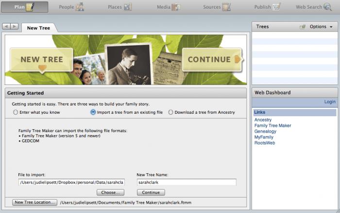 Ancestry.com's Family Tree Maker for Mac