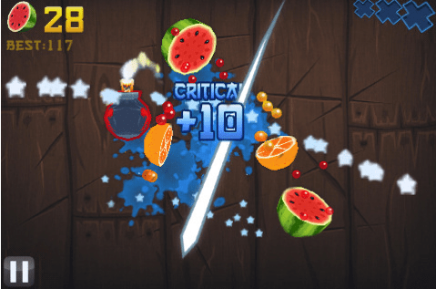 Fruit Ninja for iPhone/Touch Review  Fruit Ninja for iPhone/Touch Review  Fruit Ninja for iPhone/Touch Review
