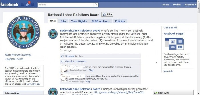 """Is Slamming Your Boss on Facebook a """"Protected Activity""""?"""
