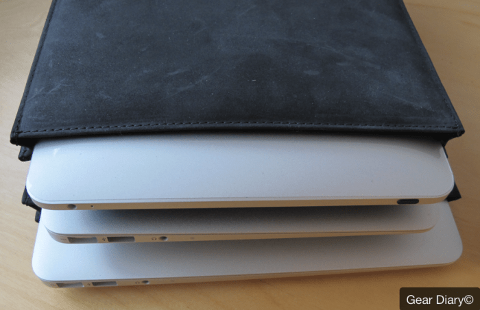 MacBook Air Gear: AUTUM Straight Jacket, an Insanely Simple Leather Laptop Sleeve  MacBook Air Gear: AUTUM Straight Jacket, an Insanely Simple Leather Laptop Sleeve  MacBook Air Gear: AUTUM Straight Jacket, an Insanely Simple Leather Laptop Sleeve