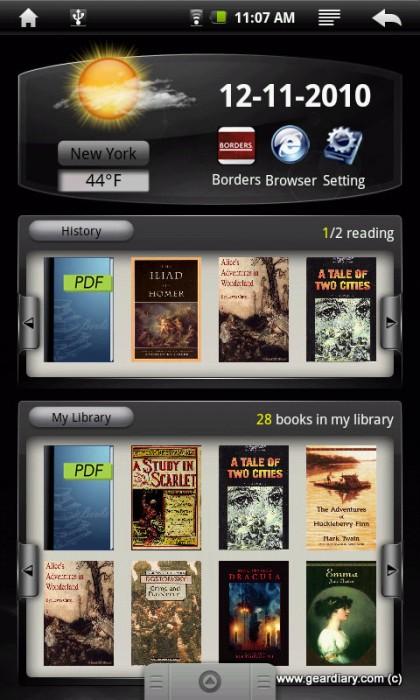Review: E FUN NEXTBOOK Next2 eBook Reader/Tablet