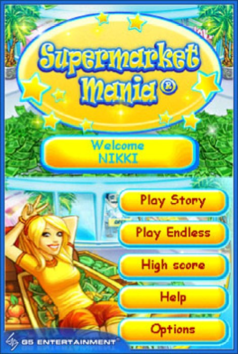 DSiWare Game Review: Supermarket Mania