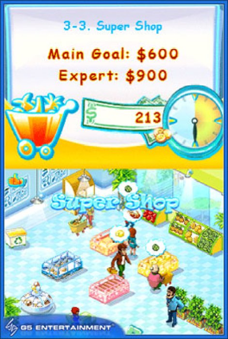 DSiWare Game Review: Supermarket Mania  DSiWare Game Review: Supermarket Mania  DSiWare Game Review: Supermarket Mania