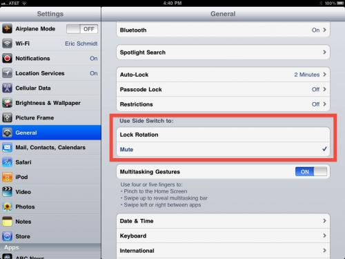 Rumor: iOS 4.3 to Solve 'Rotation Lock-Gate'?