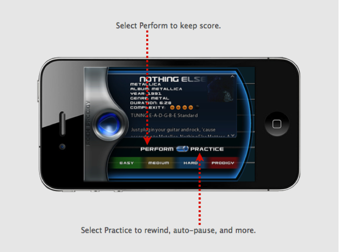 New Mobile App Transforms Guitar Players into a Rock Prodigy