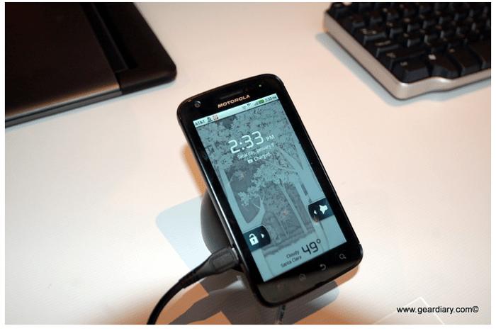 Motorola Atrix 4″ Phone To 20″ Desktop to… 24″ iMac