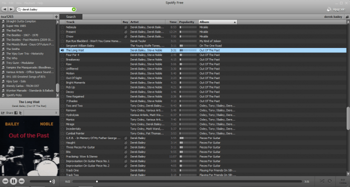 Music Diary Notes: Spotify Hands-On ... Yeah, It IS That Good!