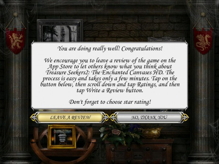 iPad Game Review: Treasure Seekers II: The Enchanted Canvases