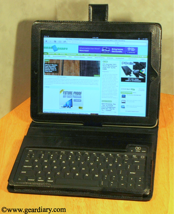 iPad Accessory Review: Sena Keyboard Folio  iPad Accessory Review: Sena Keyboard Folio