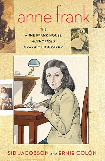 Anne Frank's Life As a Graphic Novel? Yes, Please