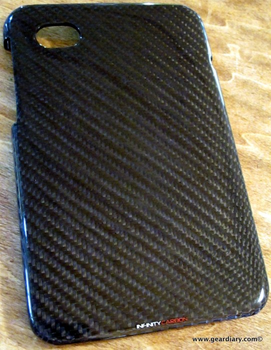 Samsung Tab Accessory Review: The Infinity Carbon 2x2 Carbon Fiber Twill Case