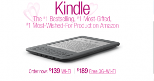 eBook Readers for Valentine's Day