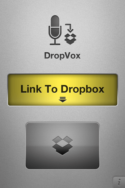 iPhone App Quickie: DropVox Lets You Record Voice Notes and Auto-Save to DropBox