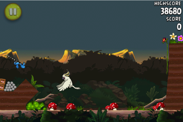 Angry Birds Rio for iPhone/Touch