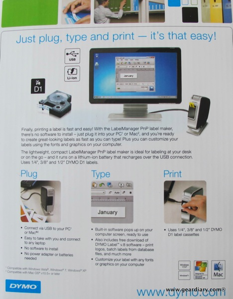 Review: DYMO LabelManager PnP  Review: DYMO LabelManager PnP  Review: DYMO LabelManager PnP