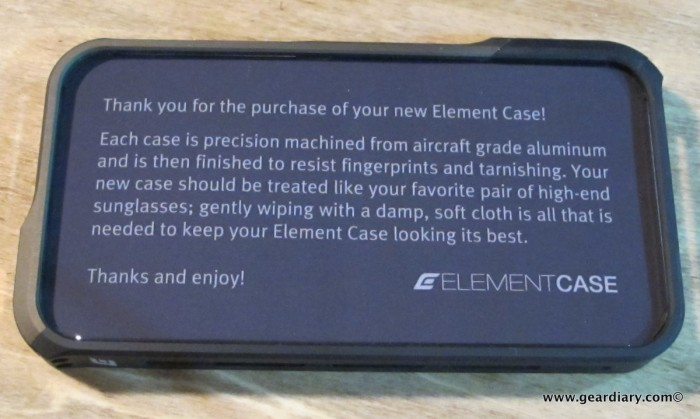 iPhone 4 Accessory Review: The Element Case Vapor Pro Limited Edition  iPhone 4 Accessory Review: The Element Case Vapor Pro Limited Edition  iPhone 4 Accessory Review: The Element Case Vapor Pro Limited Edition  iPhone 4 Accessory Review: The Element Case Vapor Pro Limited Edition