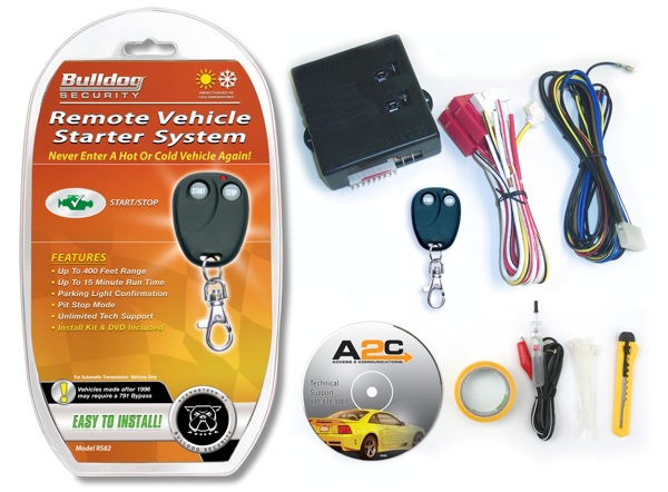 Bulldog Security's Automotive Remote Starts and Secures Your Car