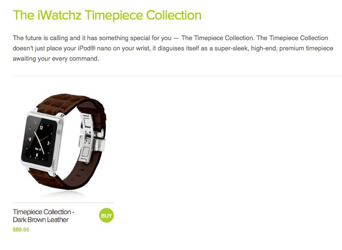 iWatchz Straps Make Mom's iPod Nano a Fashionable Watch