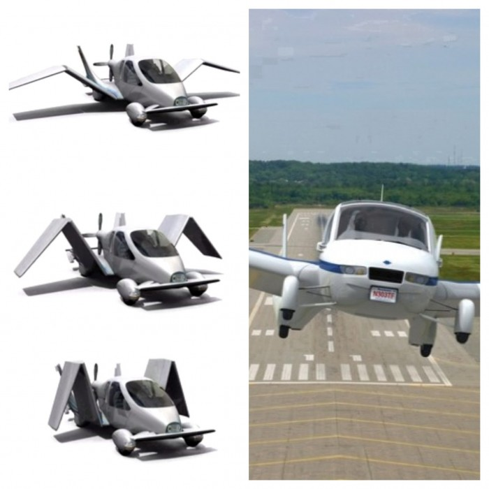 Look, Up in the Sky, It's a Bird, It's a Plane It's... A Car??? Terrafugia's Transition Roadable Aircraft