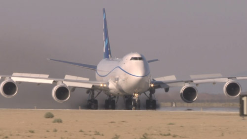Random Cool Video: Boeing 747-8F Performs Ultimate Rejected Take-off