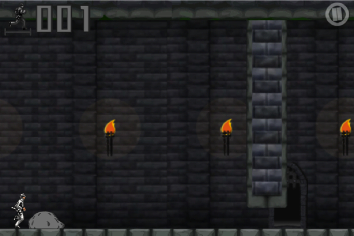 Castle Runner for iPhone/Touch  Castle Runner for iPhone/Touch