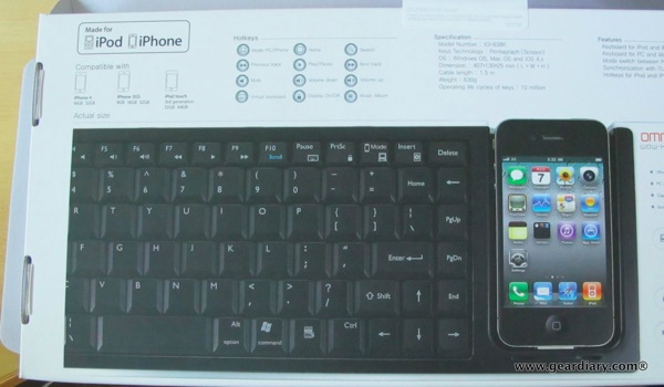 iPhone Accessory Review: WOW-keys Keyboard for Mac, PC, iPhone and iPod touch  iPhone Accessory Review: WOW-keys Keyboard for Mac, PC, iPhone and iPod touch