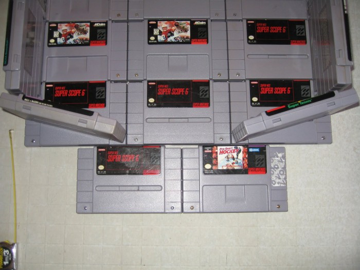 Random Cool Stuff: Build a Urinal from Old SNES Cartridges!  Random Cool Stuff: Build a Urinal from Old SNES Cartridges!