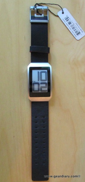 Watch Review: Phosphor E Ink Digital Hour Clock Watch with Black Leather Band