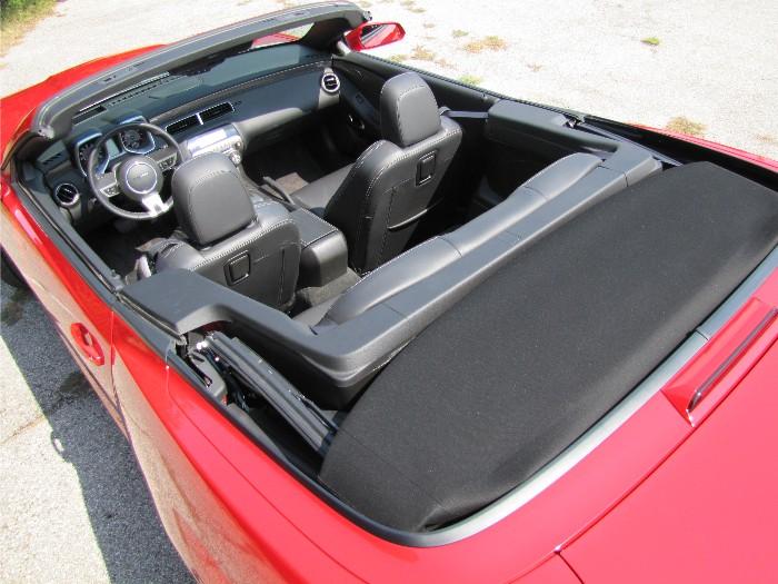 Chevy Camaro Convertible Hot As a Firecracker