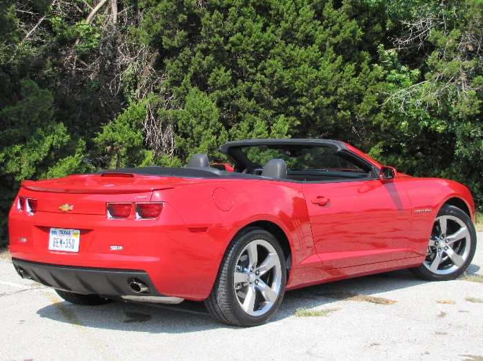 Chevy Camaro Convertible Hot As a Firecracker