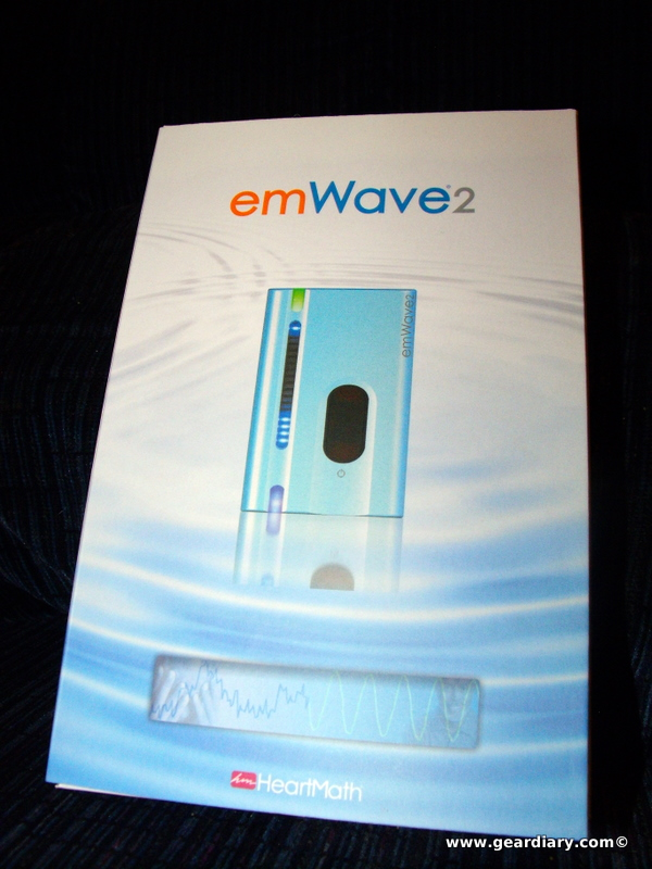 GearDiary Review: emWave 2 Portable Stress Relief Device