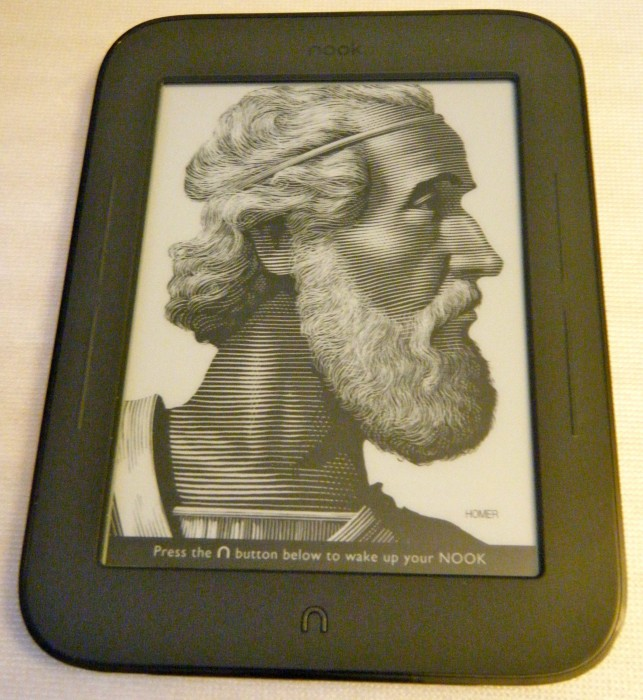 First Impressions: nook Simple Touch Reader