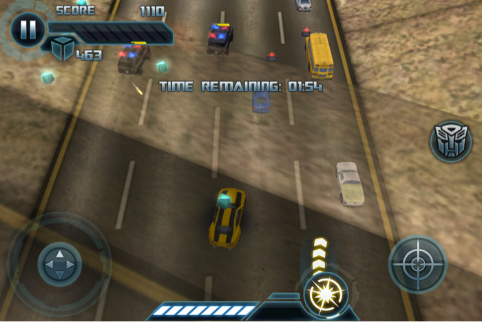 Transformers: Dark of the Moon for iPhone/Touch
