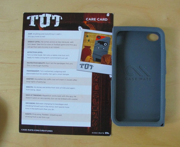 "First Look: Case-Mate Tut ""Creatures"" Case for iPhone 4"