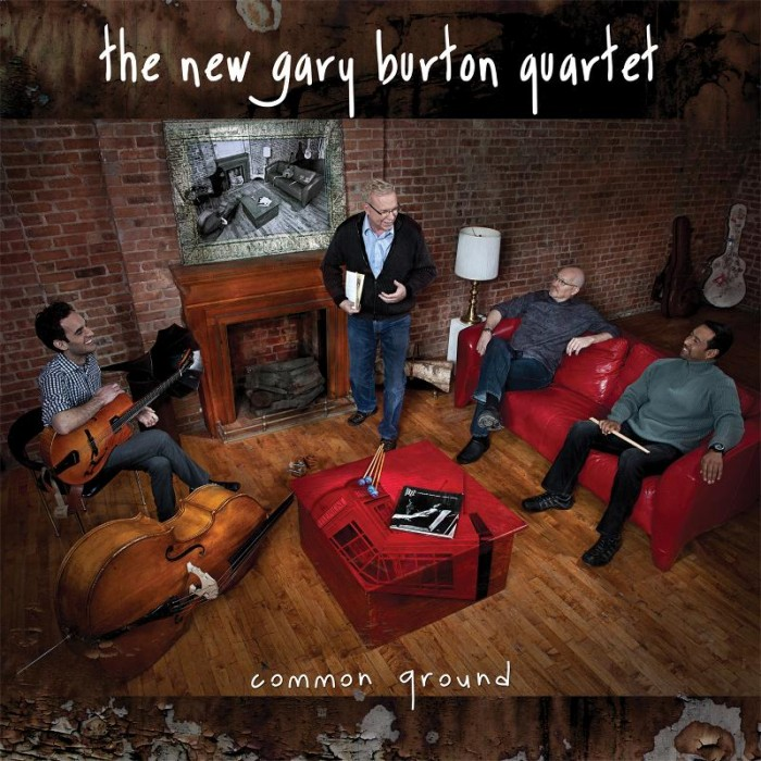 GearDiary Music Diary Review: The New Gary Burton Quartet - 'Common Ground' (2011, Jazz)