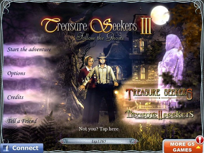 iPad Game Review: Treasure Seekers III HD: Follow the Ghosts