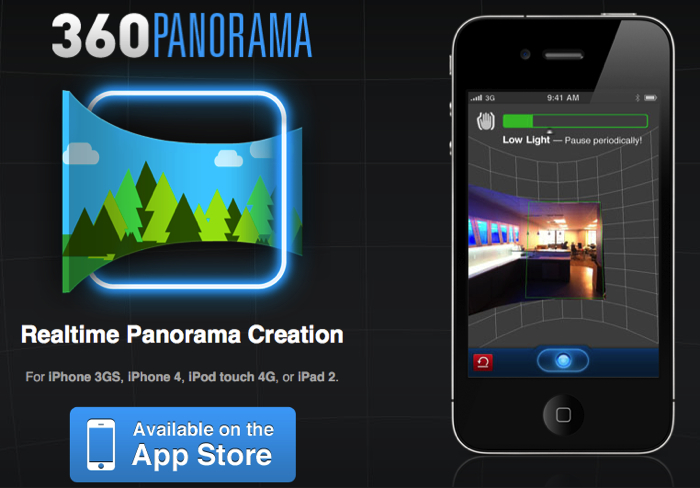 360 Panorama for iPhone/Touch/iPad2 (Splurge Edition)  360 Panorama for iPhone/Touch/iPad2 (Splurge Edition)