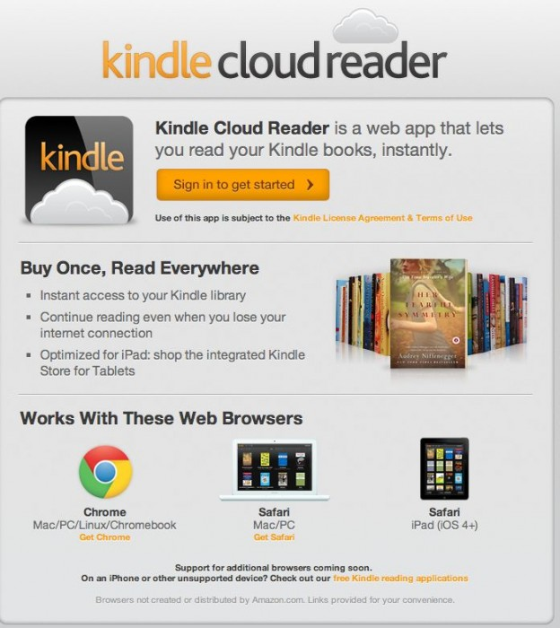Kindle Cloud Reader iPad Review: Simple to Use, Awesome to Behold!