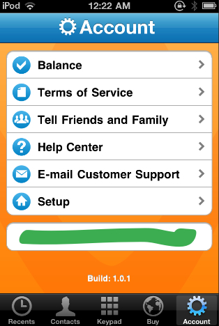 GearDiary Review: Vonage Time to Call App for iOS
