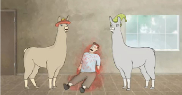 Proof Psychedelia Is Alive and Well: Llamas with Hats